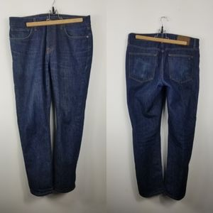 Tommy Hilfiger straight leg blue jeans 33/30